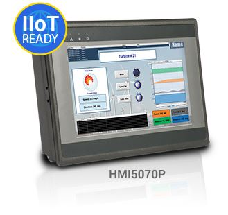 "7"" Wide Temperature Range Touchscreen"