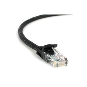 Cat5e Indoor Patch Cable - Black 10'