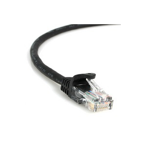Cat5e Indoor Patch Cable - Black 6'