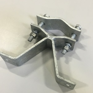 Mast Wall Mount Bracket - Heavy Duty