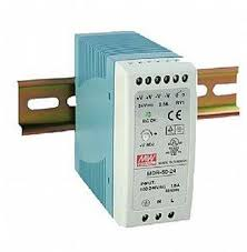 Power Supply 24 VDC 2.5A DIN Rail