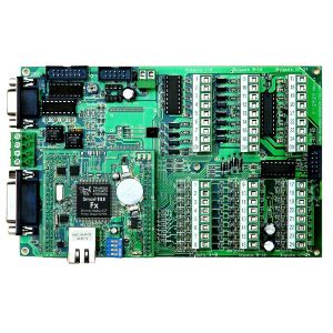 24 Digital In, 24 Digital Out, 12 Analog PLC with Starter Kit