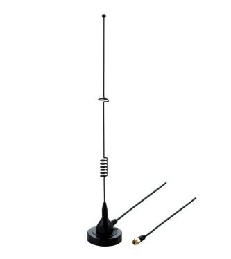 Wideband Mag Mount Cellular Antenna 3' cable with SMA Male (698 MHz - 3500 MHz)