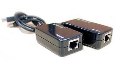 USB Extender By Ethernet Cable Adapter