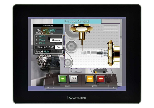 "9.7"" cMT HMI with Built-In Server"