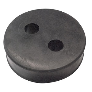"Boot Cushion Insert for 1/2"" Cable - 2 holes"