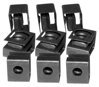 Rack 10/32 Clip Nut for round (punched) holes