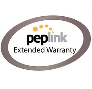 Peplink 2 Year Extended Warranty - for MAX HD2 Dome